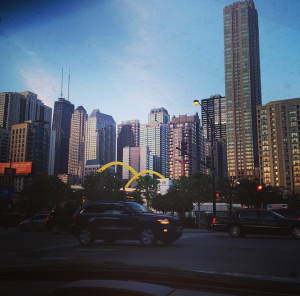 The move to Chicago, cant say it in't beautiful but can't call it home either. It's like #someoneelsesboyfriend